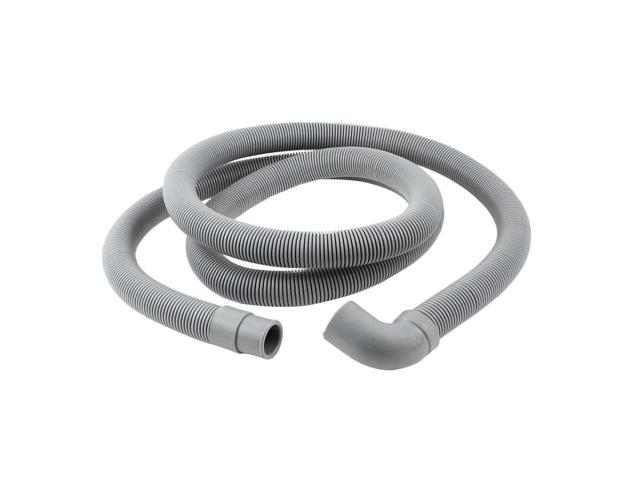 78.7' Long Plastic Gray Washing Machine Drain Pipe Washer Hose photo