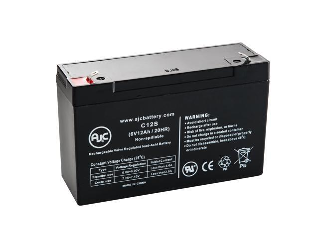 Injusa boogie car 6v 12ah mobility scooter battery - this is an ajc brand replacement