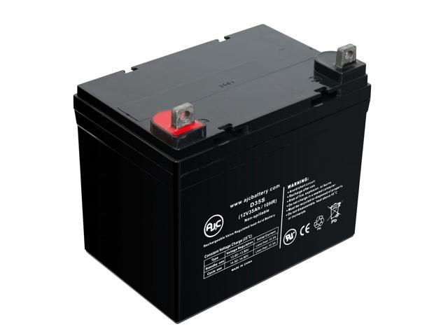 Exmark LAZER Z LINE 12V 35Ah Lawn and Garden Battery - This is an AJC Brand Replacement (683498658238 Electronics Power) photo