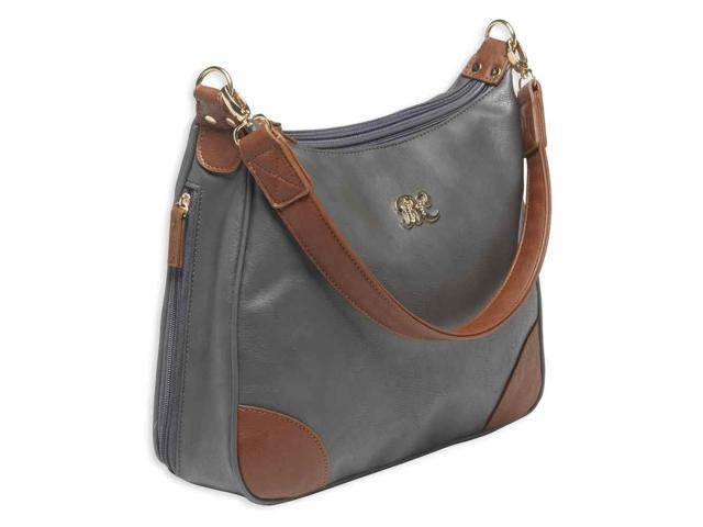 Bulldog Carrying Case (Purse) for Accessories - Gray, Tan (672352009361 Luggage & Bags) photo