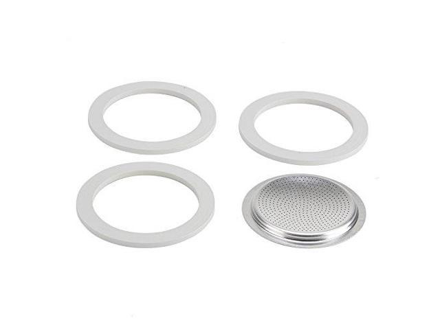 Bialetti Replacement Gasket & Filter for 6 Cup Espresso Maker photo