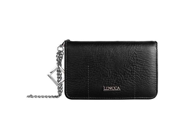 LENCCA Kymira II Girl's Universal Wallet Purse Case (with wristlet strap) fits LG G3 / G4 (08903672625279 Electronics Communications Telephony Mobile Phone Cases) photo