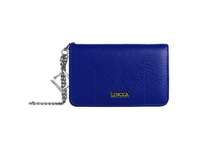 LENCCA Kymira Girl's Universal Wallet Purse Case (with wristlet strap) fits Motorola Moto E (08903672624463 Electronics Communications Telephony Mobile Phone Cases) photo