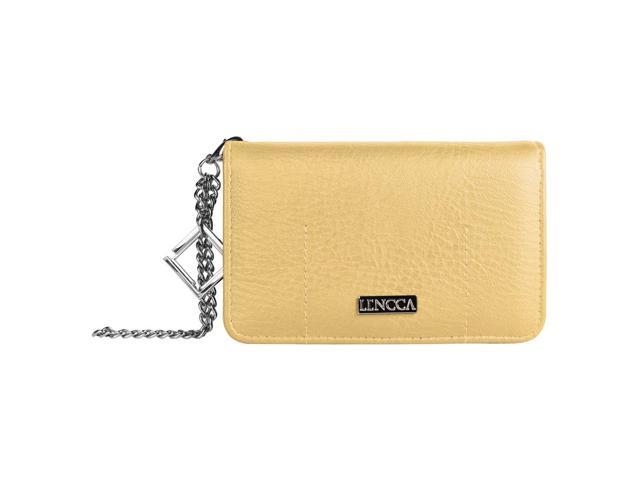 LENCCA Kymira Girl's Universal Wallet Purse Case (with wristlet strap) fits iPhone 5 / 5C / 5S (08903672624814 Electronics Communications Telephony Mobile Phone Cases) photo