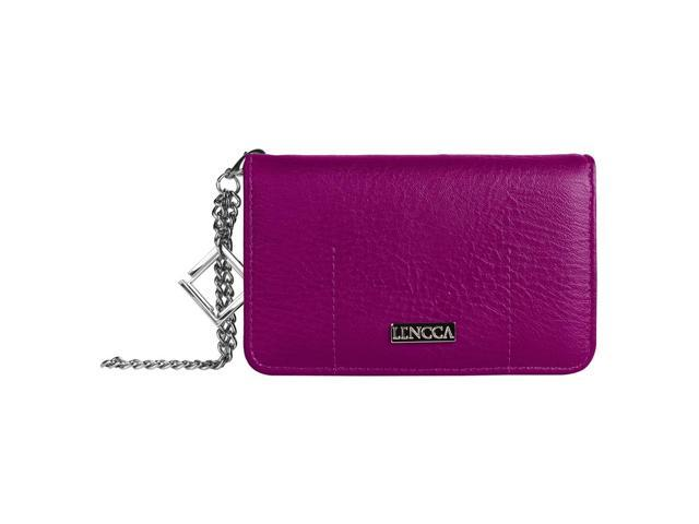 LENCCA Kymira Girl's Universal Wallet Purse Case (with wristlet strap) fits iPhone 5 / 5C / 5S (08903672624999 Electronics Communications Telephony Mobile Phone Cases) photo