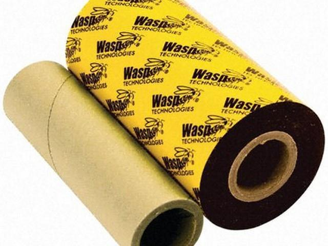 Wasp Technologies Print Ribbon - Wpl305 And Wpl606 - 4.3 In X 820 Ft - 633808431242 (Electronics) photo