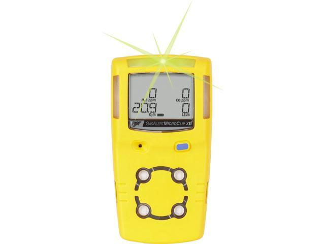 BW Technologies MCXL-XWHM-Y-NA GasAlertMicroClip XL 4 Gas Detector (688295890720 Electronics) photo