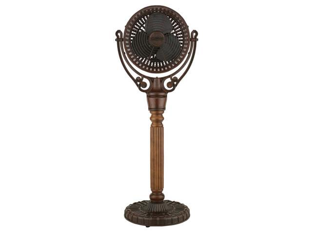 Fanimation Old Havana Ceiling Fan Model FA-FPH70CP in Carved Post Column with Blades photo