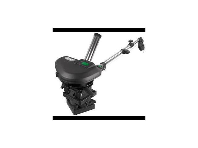 Scotty 2106 HP Depthpower Electric Downrigger 60 SS Telescoping Boom w/ Swivel Base - Single Rod Holder photo