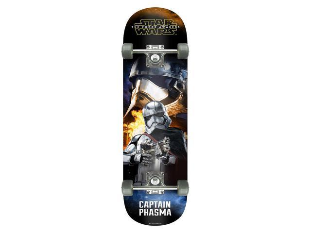 Star Wars The Force Awakens Popsicle Skateboard 31 inch - Captain Phasma