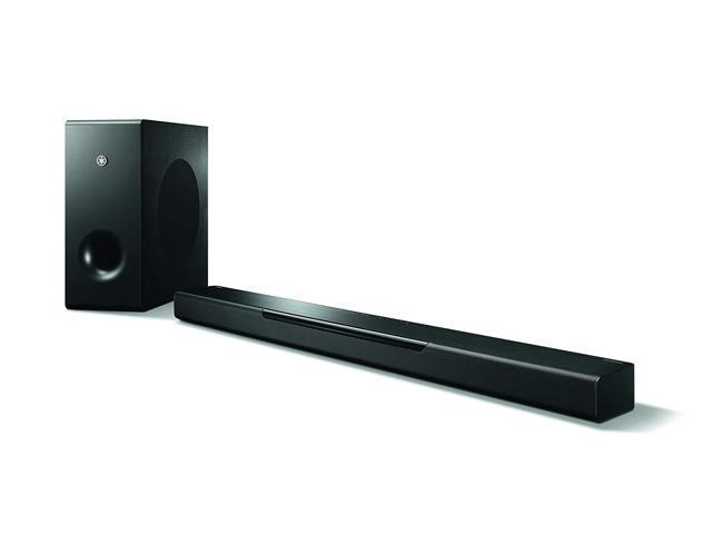 Yamaha MusicCast BAR 400 Sound Bar with Wireless Subwoofer - Black