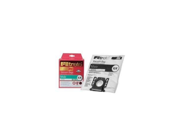 Filtrete Miele K/K Synthetic Bags and Filters, 5 Bags and 2 Filters photo