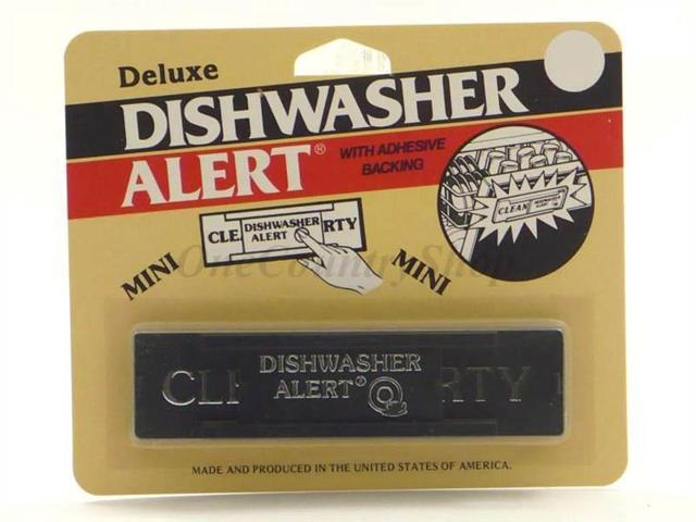 Dishwasher Alert - Clean & Dirty Sign -Non Magnetic photo