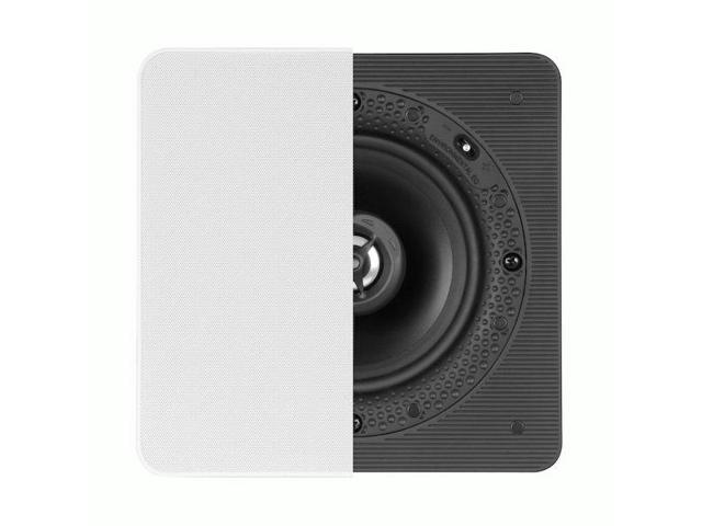 Definitive Technology DI 5.5S Disappearing In-Wall Series 5-1/4' Square In-Wall Loudspeaker (093207063794 Electronics Audio Home Theater Systems) photo