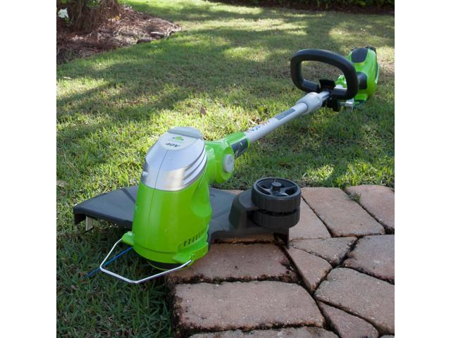 Greenworks 21332 40V G-MAX Lithium-Ion 13 in. String Trimmer (Tool Only) (841821011161 Home & Garden Lawn & Garden) photo