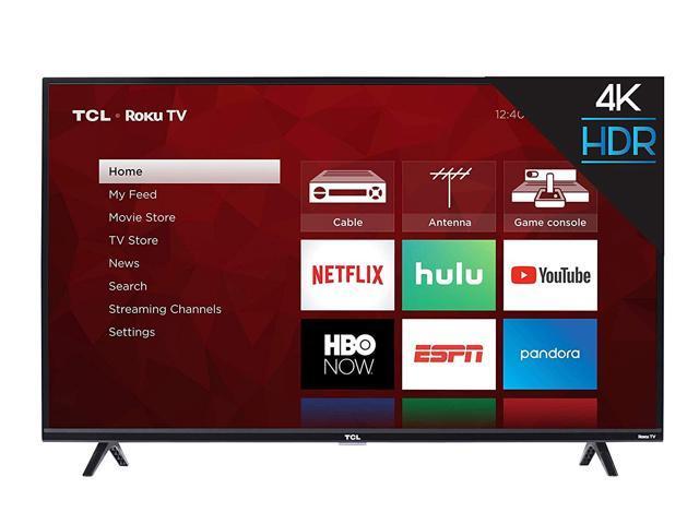 TCL 43S425 43 inch 4-Series 4K Roku Smart UHD TV