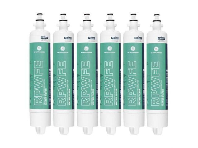GE RPWFE Refrigerator Water Filter Fits PYE23PSDCSS (6 Pack) photo