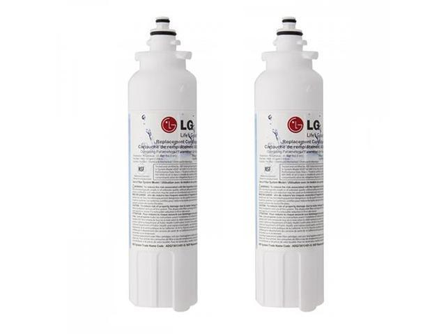Replacement Water Filter Compatible With LG ADQ73613401 Refrigerator Water Filter (2 Pack) photo