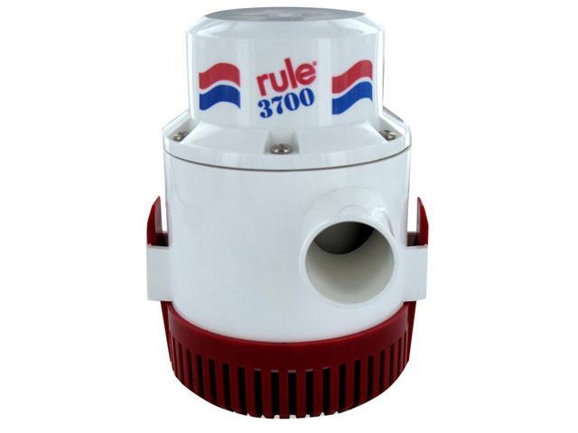 Rule 31500M RULE 3700 GPH NON AUTOMATIC BILGE PUMP 1-1/2' OUTLET 12V photo