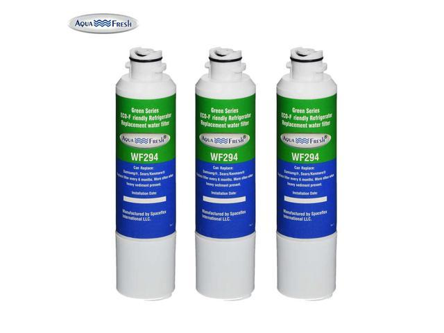 Samsung RS25H5111WW Refrigerator Water Filter Replacement by Aqua Fresh (3 Pack) photo