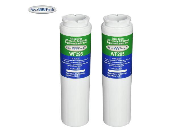 Replacement Water Filter Compatible with Amana AFD2535DEW Refrigerator Water Filter by Aqua Fresh (2 Pack) photo