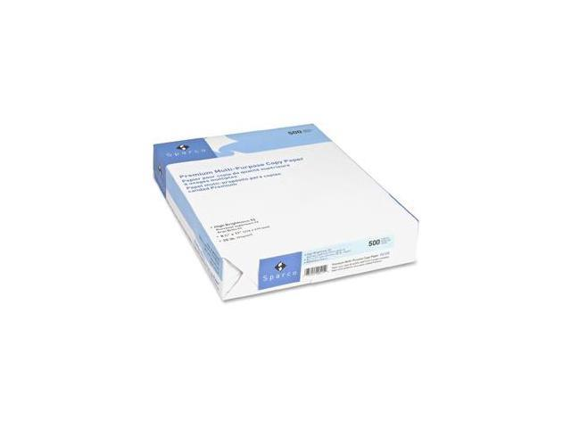 Sparco Copy Paper 92 GE/112 ISO 20 Lb 8-1/2'x11' 2500/CT WE 06125 photo