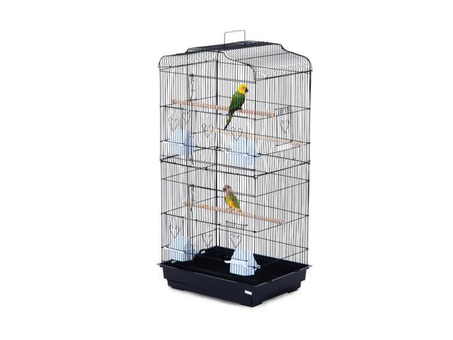 Bird Cage Parrot Flight Cage 2 Doors 4 Feeder 36' Bird Cage Pet Play House (025093568633 Hardware Tools Saws Table Saws) photo