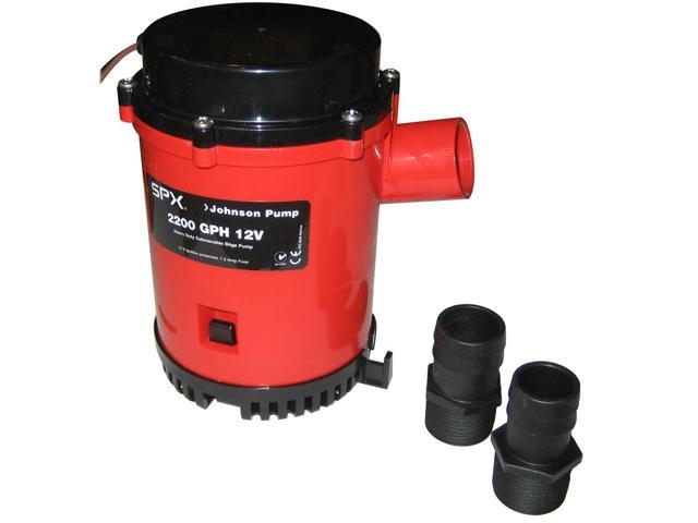 Hd Bilge Pump, 2200Gph, 12V, No Switch photo