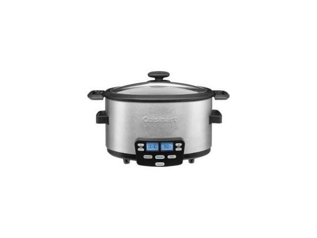 Cuisinart MSC-400 3-In-1 Cook Central 4-Quart Multi-Cooker: Slow Cooker, Brown/Saute, Steamer photo