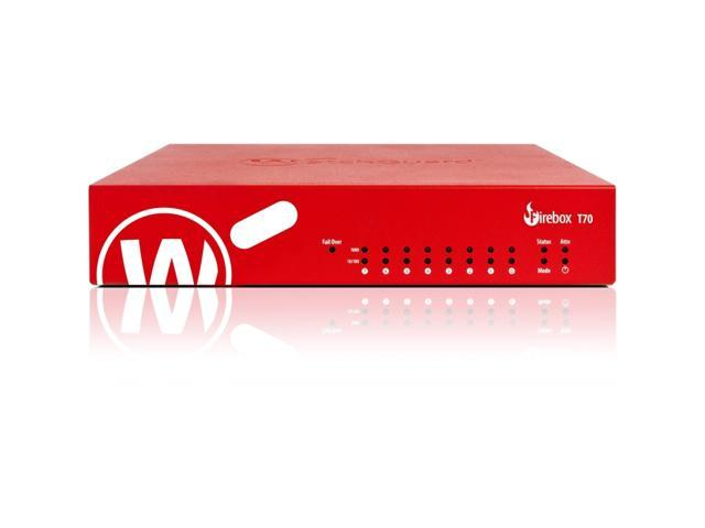 Watchguard Technologies - WGT70641-US - WatchGuard Firebox T70 with 1-yr Total Security Suite (US) - 8 Port - (Electronics Networking) photo
