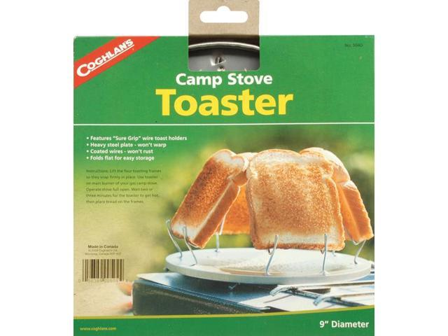 Coghlan's Camp Stove Toaster Steel Wire Toast Holders Compact Camping Cookware photo