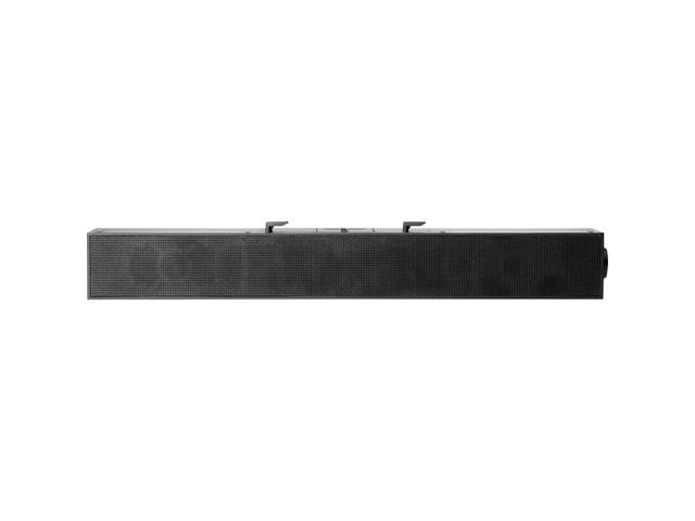 HP S101 Sound Bar Speaker 2.50 W RMS Black 5UU40AA