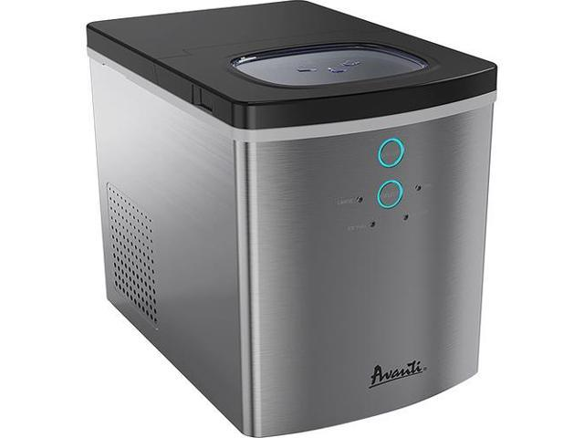 Avanti Portable Ice Maker - 25 lb Per Day - Stainless Steel - Stainless Steel AVAIM1213SIS photo