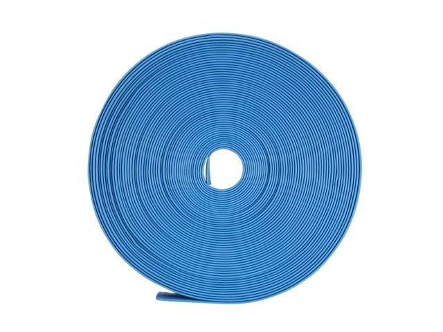 Blue 12mm Dia Polyolefin 2:1 Heat Shrink Tubing Wire Wrap Cable Sleeve 6M 20Ft