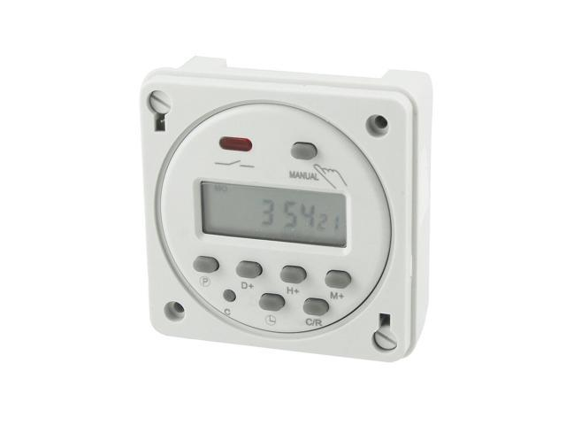 Unique Bargains Unique Bargains Cn101A LED Weekly Digital Electronic Timer AC 24V 10Amp photo