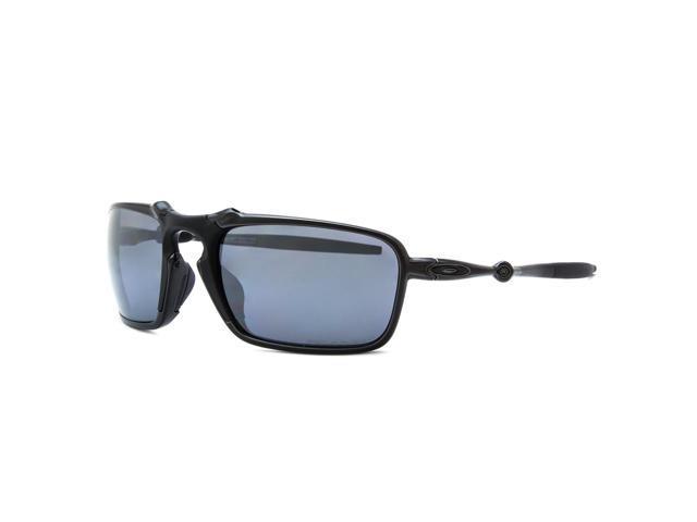 Oakley Badman Sunglasses OO6020-01 Dark Carbon   Black Iridium Polarized 9cc725e8bc