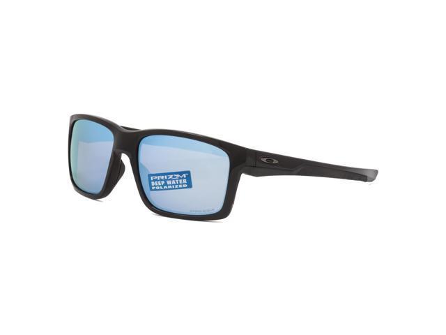 cf1acd1c5041d Oakley Mainlink Prizm Deep Water Polarized Sunglasses OO9264-21 Polished  Black   Prizm Salt Water Polarized