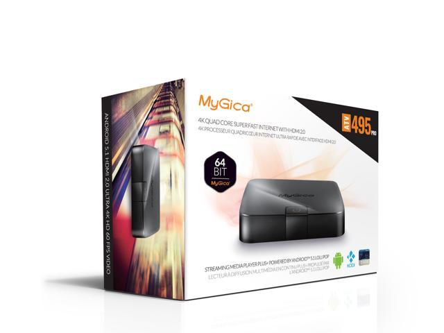 UPC 190314000138 product image for MyGica ATV 495 PRO Quad Core Android TV Box and Premium Streaming Media Player w | upcitemdb.com