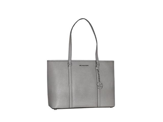 michael michael kors women s sady large leather top zip tote handbag rh newegg com
