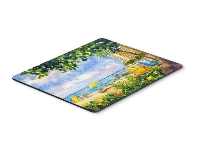 Beach Resort view from the condo Mouse pad, hot pad, or trivet (615872583157 Electronics Computers Computer Accessories) photo