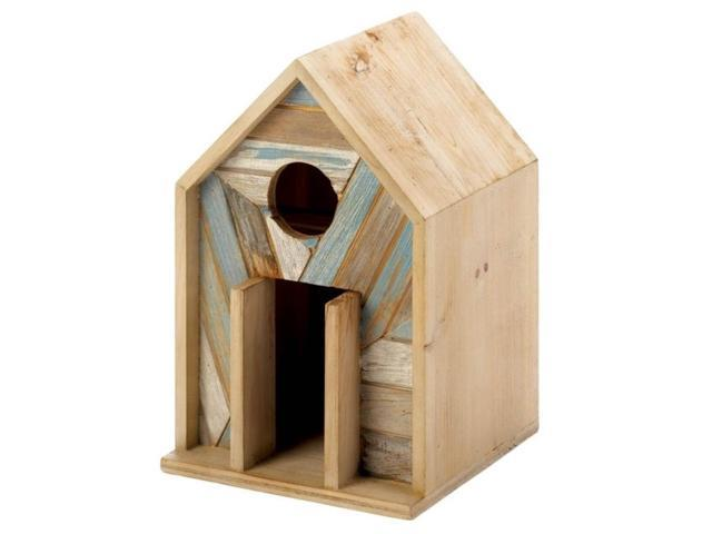 Bali Beach Wood Bird House (849179039059 Furniture Shelving) photo