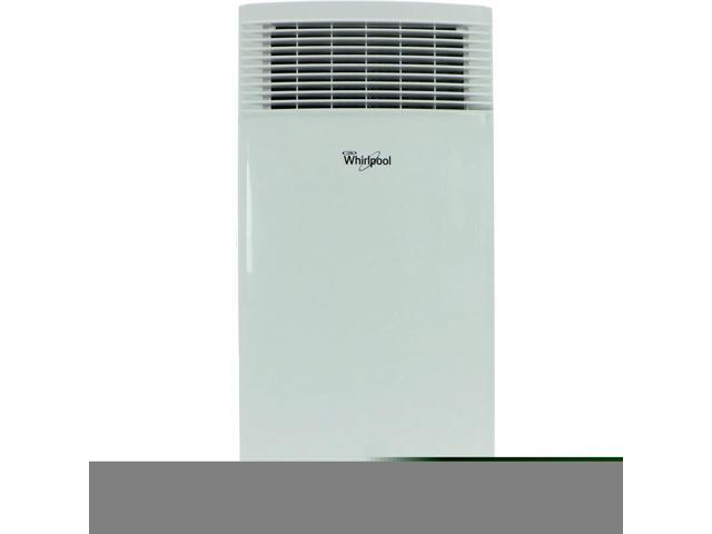 Whirlpool 8,000 BTU Single-Exhaust Portable Air Conditioner with Remote Control in White photo