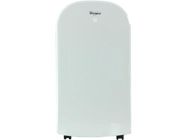 Whirlpool 12,000 BTU Single-Exhaust Portable Air Conditioner with Remote Control in White photo