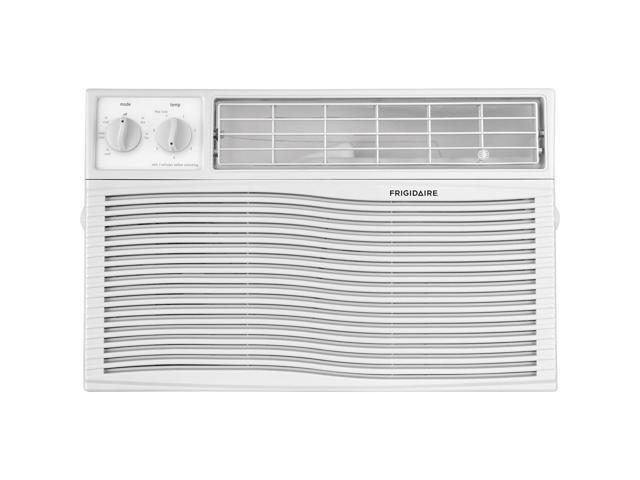 Frigidaire 6,000 BTU Window-Mounted Room Air Conditioner with Mechanical Controls, White FFRA0611U1 photo