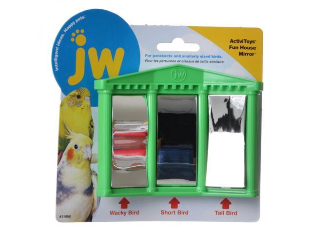 JW FUN HOUSE MIRROR BIRD TOY (618940310501 Home & Garden Lawn & Garden Outdoor Living) photo