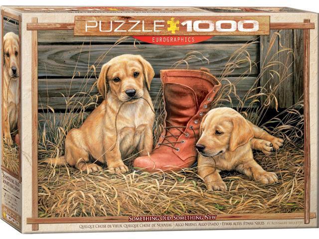 Eurographics - 1000 Piece Puzzle (SOMETHING OLD SOMETHING NEW) photo