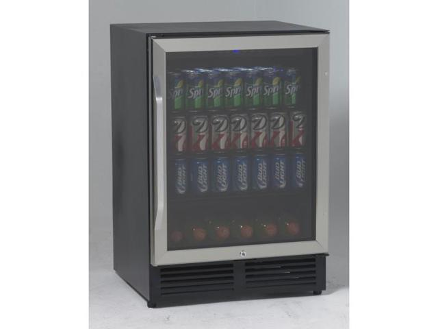 Avanti 5.0 cu. ft. 5.0 CF Refrigerator SS Door Black BCA516SS photo