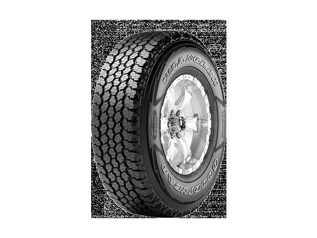 (1) New Goodyear Wrangler AT Adventure W/ Kevlar 245/75R16 120S 10P E Tires