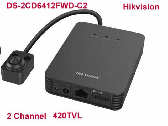 Hikvision DS-2CD6412FWD-C2 IP Network Camera Host HD Pinhole 1.3MP WDR Mini Covert 2 ch