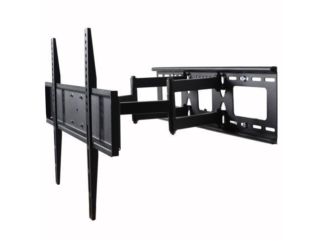 VideoSecu Dual Arm TV Wall Mount for Samsung 32-60' LED LCD HDTV UHD Plasma Flat Panel Screens, Tilt Swivel TV Mount with VESA 600x400mm. photo